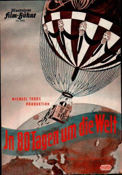 Filmprogramm 1956: Die Reise um die Erde in 80 Tagen