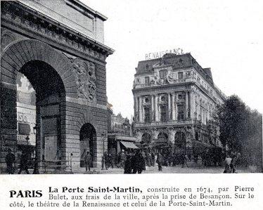 Pariser theater in denen die st cke jules vernes - Theatre de la porte saint martin 75010 paris ...